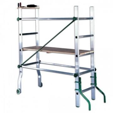 Trabattello alluminio altezza lavoro 2.90/3.50 Mt. Tano