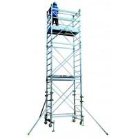 Trabattello alluminio Doge 65 Da 4.30 a 10.30 mt. Marchio Facal