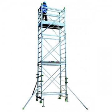 Trabattello alluminio Doge 65 Da 4.30 a 10.30 mt.
