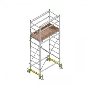 Trabattello alluminio altezza lavoro 4.40 Mt.