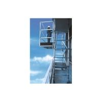 Trabattello a balcone in alluminio da 2,50 mt.