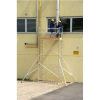 Trabattello alluminio Roller Plus S modulo A+B+C Altezza L. 6.00 mt.