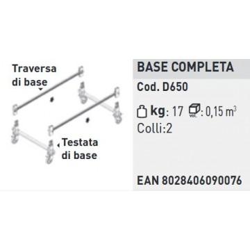 BASAMENTO COMPLETO DOGE 65
