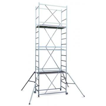 Trabattello Maxi Tris altezza di lavoro  metri 5,70 completo